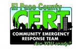 El Paso Co CERT Team Logo